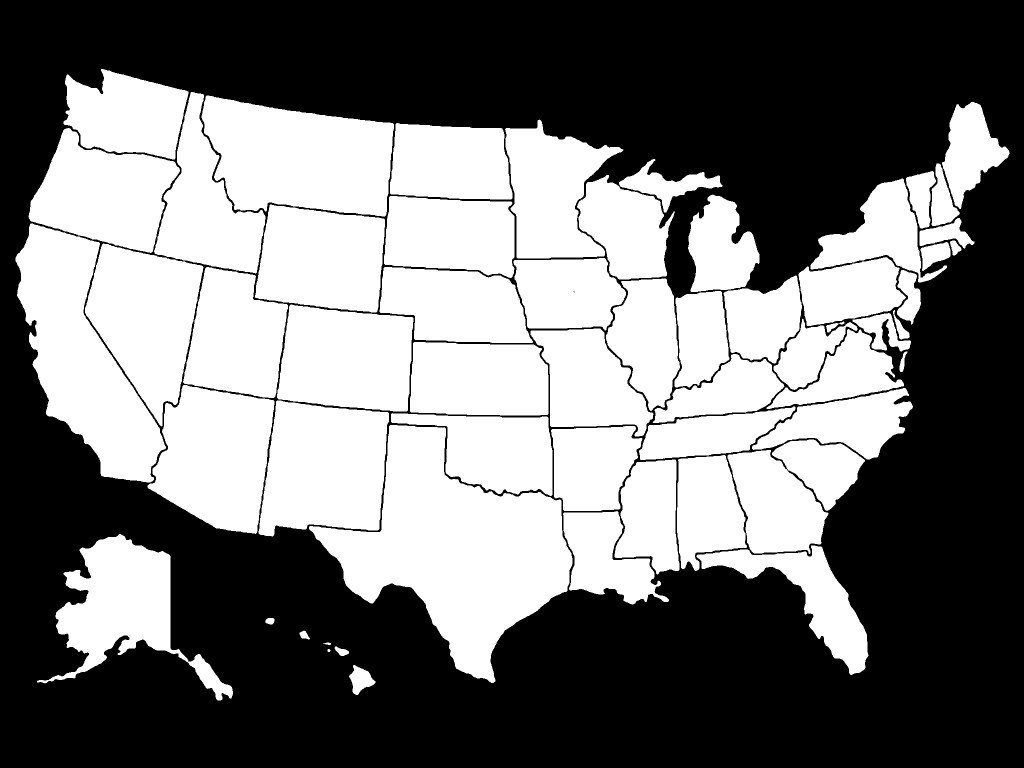 States iVisited Map